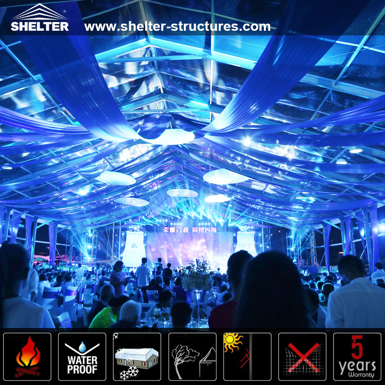 amazing lighting. Clear Marque With Lighting Host 200 Guests Amazing N