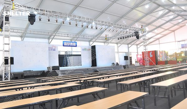 Event Marquee: Temporary Conference Hall