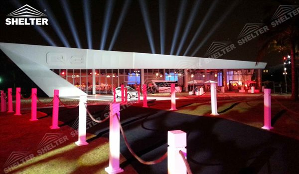 Commercial Tents: Outdoor Products Launch Venue