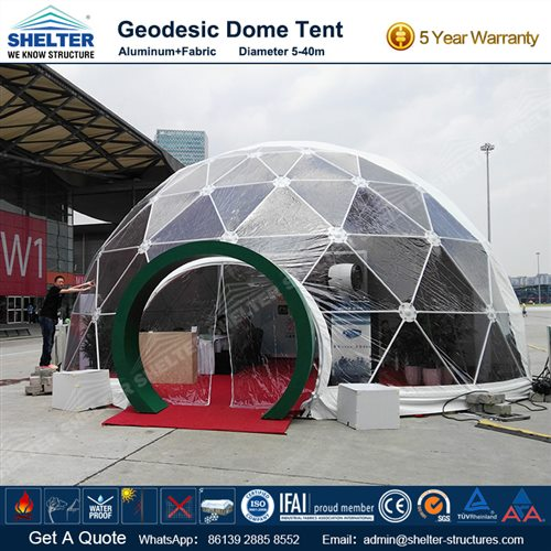 Geodesic Domes - Large Dome Tent for Sale & Large Dome Tent - Geodesic Domes - Geodomes for Sale - Shelter