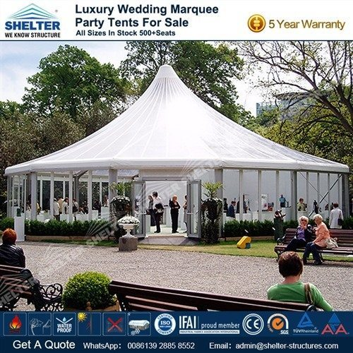 16 Sided Polygon Tent - Outdoor Event Marquee & Polygon Tent - Polygonal Marquee - Octagon Tents - Shelter