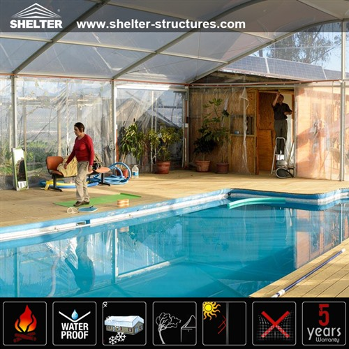 Swimming Pool Canopy - Sports Tent for Sale - Shelter Structures