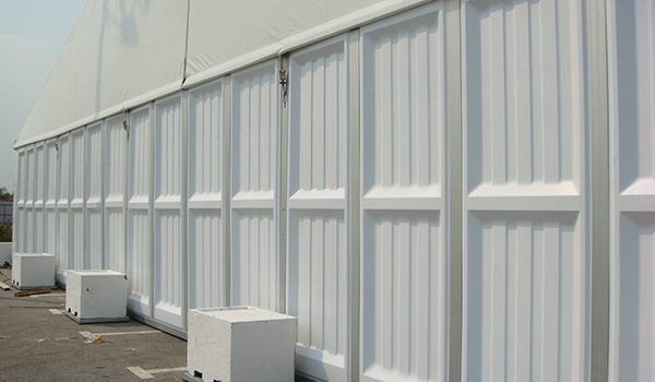 Shelter Tent Structures - ABS Solid Wall