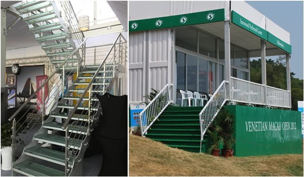 Shelter Tent Structures - Staircase