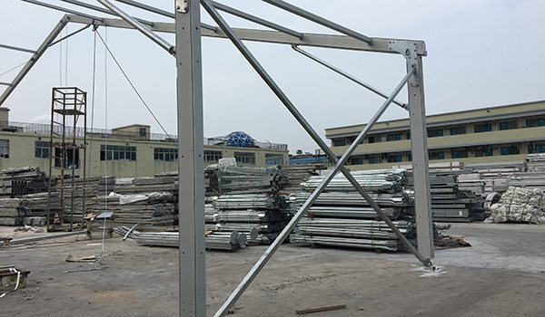 Shelter Tent Structures - X Wind Brace