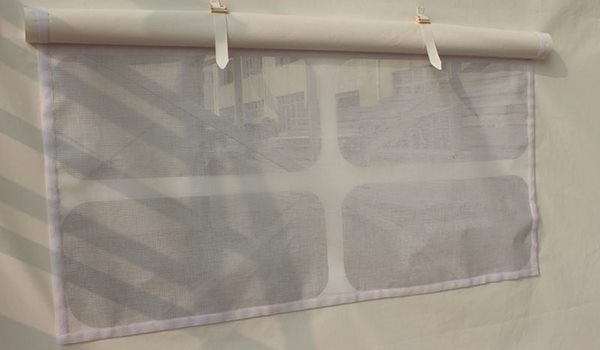 Shelter Tent Structures - mesh window -2