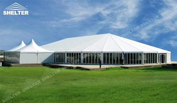 SHELTER Oval Structures - Bellend Tent - Music Party Marquee - Luxury Festival Hall -23