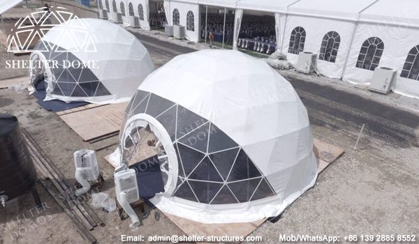 Dia. 10m Reception Dome with Front Transparent Window