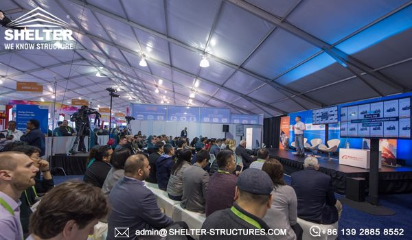 Expo Solution for CES 2018 - Large Tradeshow Tent for Sale - Purchase Expo Marquee for Tented Exhibition (1)