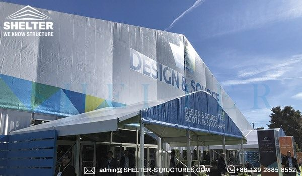 Expo Solution for CES 2018 - Large Tradeshow Tent for Sale - Purchase Expo Marquee for Tented Exhibition (6)